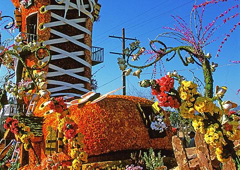 Shoe Flowers Float - California - Collette