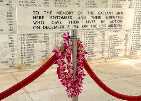 Pearl Harbor Names - Hawaii - Collette