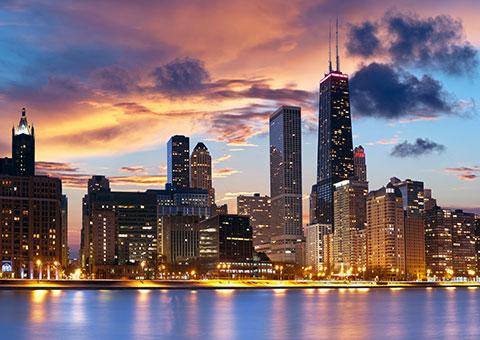 Chicago Skyline - Illinois