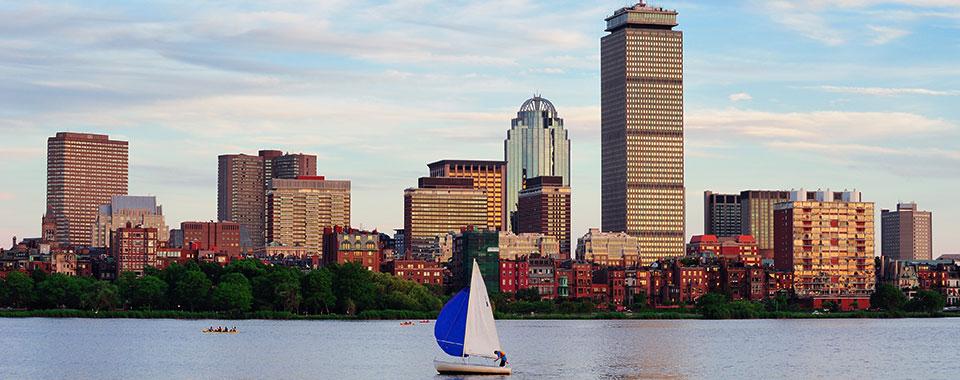 Boston Skyline - Massachusetts - Collette