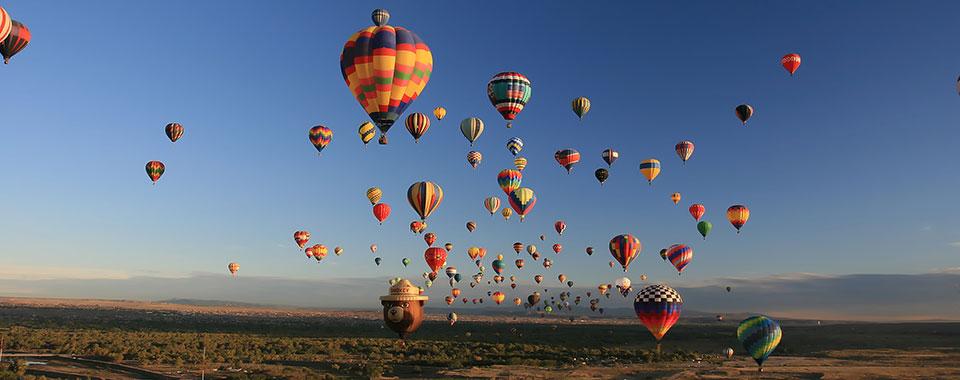 Albuquerque To Santa Fe >> Albuquerque Balloon Fiesta | Travel Tours | Collette
