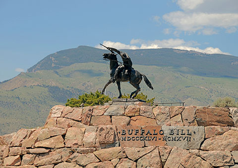 Cowboy Statue - Wyoming - Collette