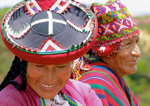 Local Andean People - Peru - Collette