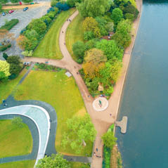 princess diana memorial walk AdobeStock 160335932