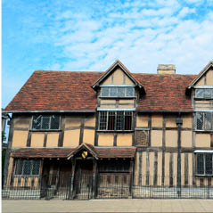 shakespeare birthplace  AdobeStock 59608360