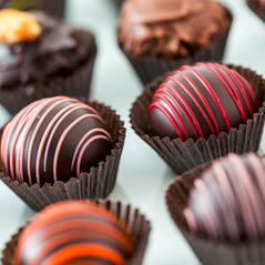 chocolate truffles  AdobeStock 70414801
