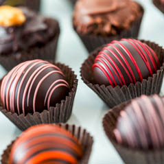 chocolate truffles  AdobeStock 70414801