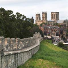city walls England Yor  AdobeStock 178523730