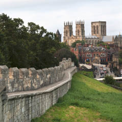 city walls England Yor  AdobeStock 178523730