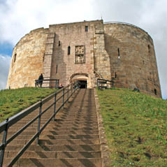 clifford tower york england  AdobeStock 467278