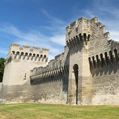 Avignon City WallsAdobeStock 98567619
