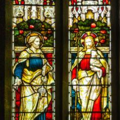 stained glass window AdobeStock 137852499