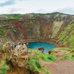 kerid crater lake AdobeStock 116160170