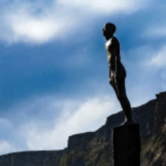 Vik iceland statue for journey dreamstime xxl 82181450