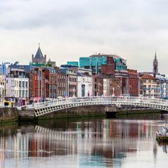 DublinIrelandwithHapennyBridge