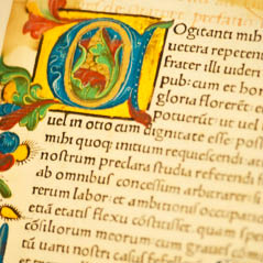 Gutenburg Old Bible Page   Fotolia 35559598 Subscription XL