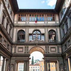 Uffizi Museum florence italy