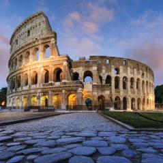 Colosseum at dusk 124148642 AdobeStockRF