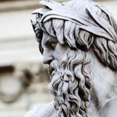 zeus sculpture rome AdobeStock 74641957