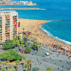 La Barceloneta Beach AdobeStock 126244533