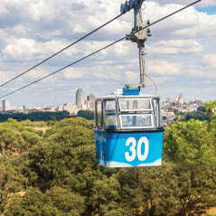 Teleferico madrid spain cable car AdobeStock 80046356
