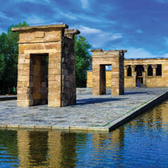 Temple de Debod Egyptian temple madrid spain AdobeStock 150062097