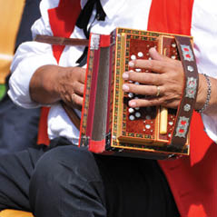 swiss Accordionist AdobeStock 45496995