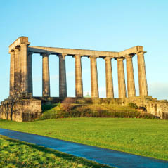 monuments on Calton Hill  AdobeStock 116001768