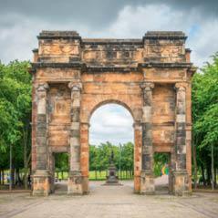 Glasgow Green Park Scotland AdobeStock 170119776
