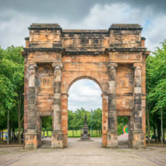 Glasgow Green Park Scotland AdobeStock 170119776