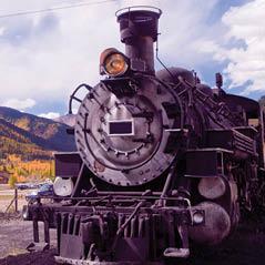 heritage park steam train