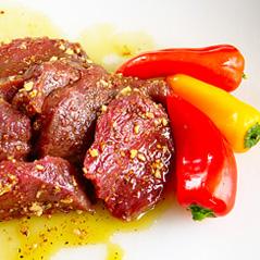 elk steak