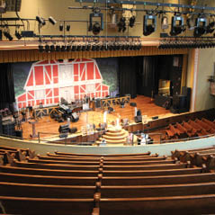 ryman auditorium interior