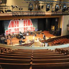 ryman auditorium interior