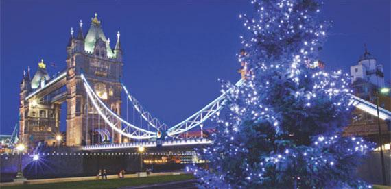 christmas london tour