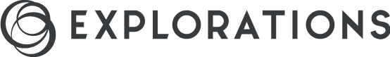Explorations logo grey