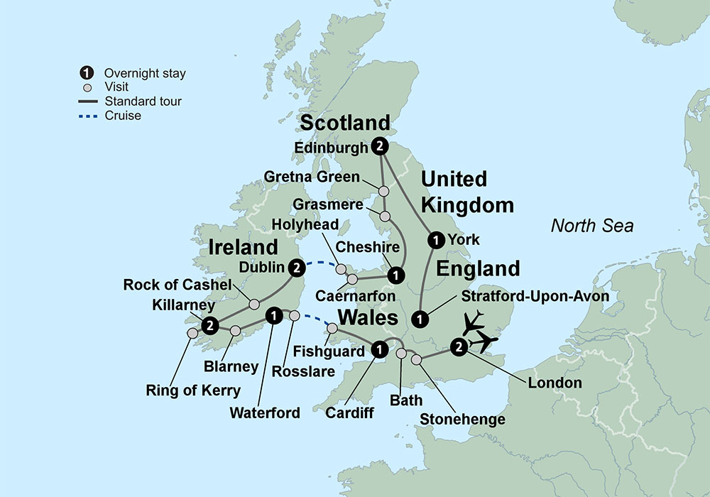 Exploring britain ireland featuring england ireland scotland and exploring britain and ireland 2018 web gumiabroncs Gallery