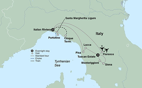 Tuscany the Italian Riviera Travel Tours Collette