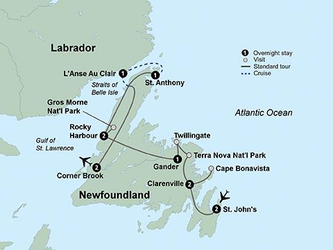 Newfoundland and Labrador Holiday in Newfoundland and Labrador