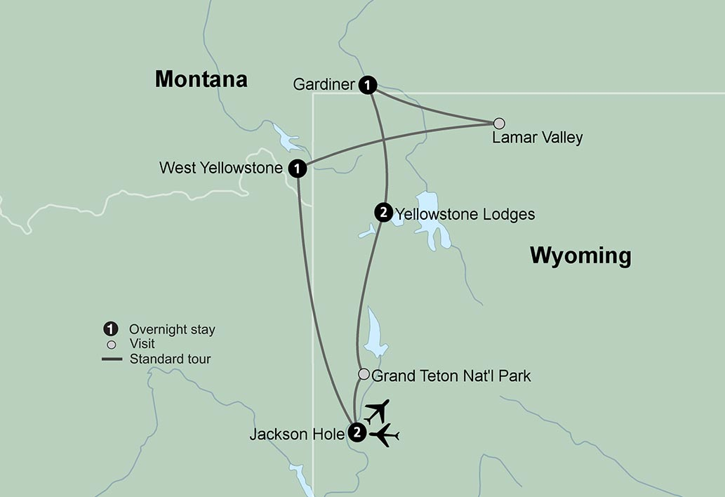 Winter in Yellowstone - Travel Tours - Collette