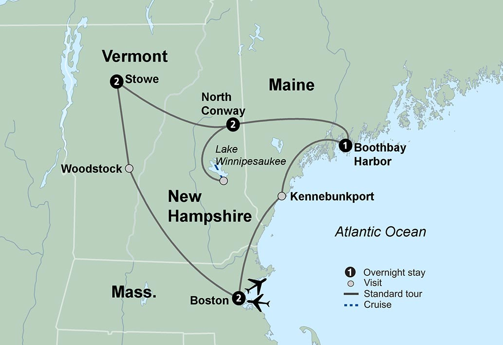 Colors Of New England Travel Tours Collette