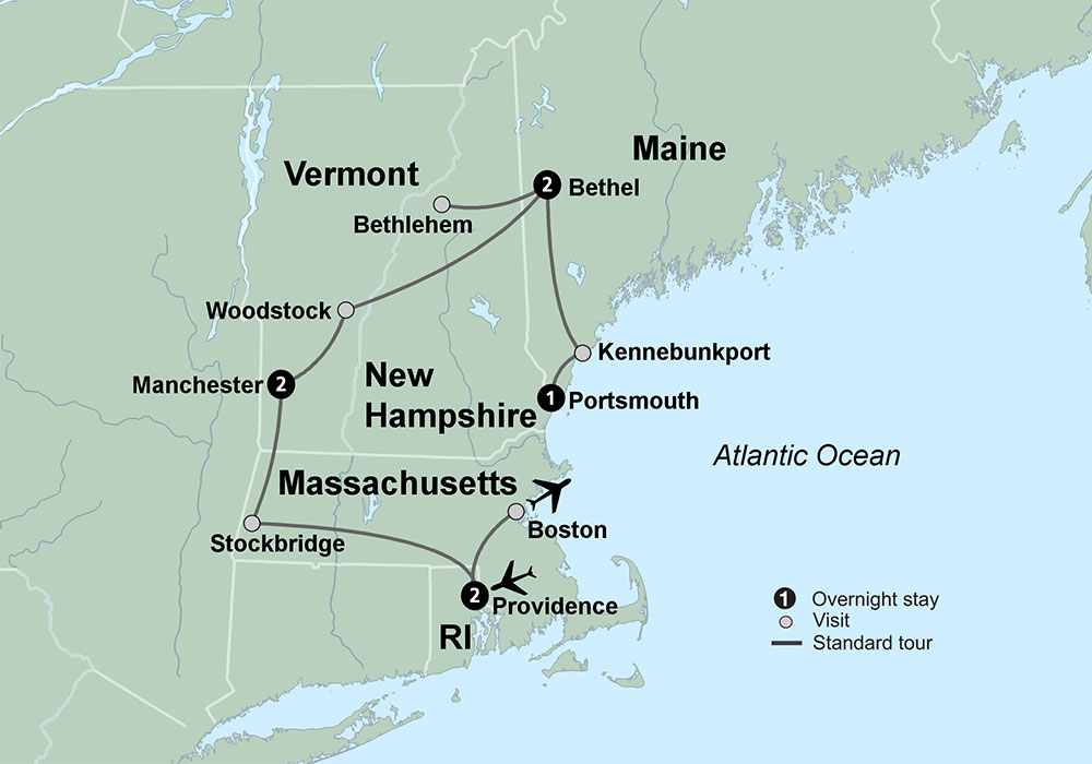 New England's Fall Charm Travel Tours Collette