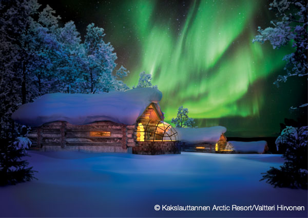 finland northern lights carousel 3