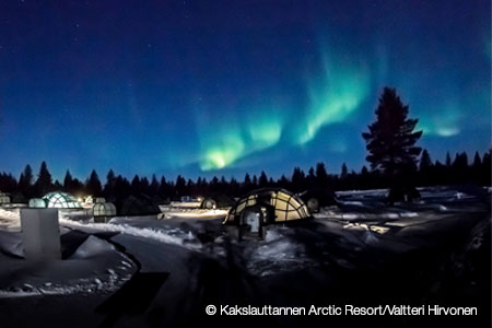 finland northern lights search