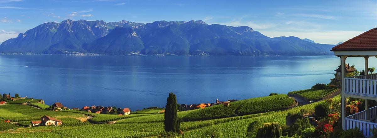 Lavaux region Vaud Switzerland