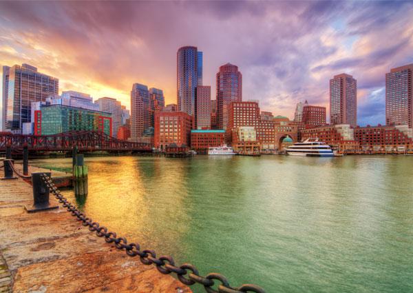 new england charm boston