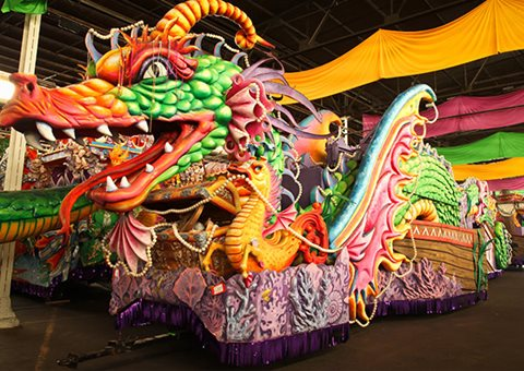 spotlight nola carnival carousel 2