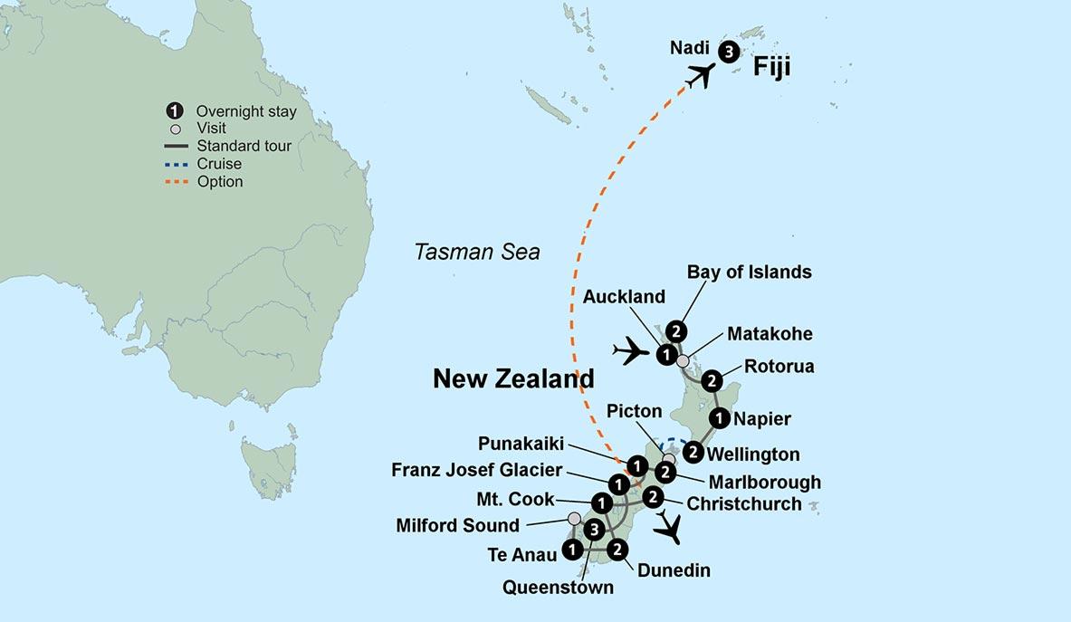 Exploring New Zealand 2018