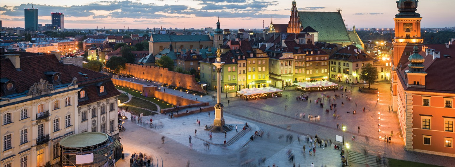 Magnificent Cities of Central & Eastern Europe