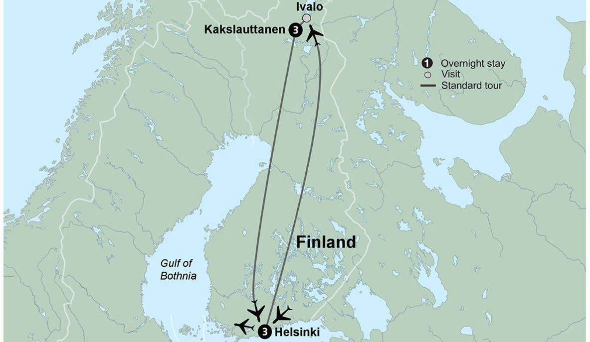 NorthernLightsOfFinland 2019 map